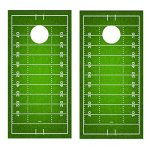 Football-Field-CORNHOLE-DECAL-WRAP-SET-Decals-Board-Boards-Vinyl-Sticker-Stickers-Bean-Bag-Game-Wraps-Vinyl-Graphic-Image-Corn-Hole-0