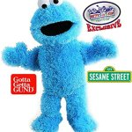 GUND-Sesame-Street-Full-Body-Plush-Hand-Puppets-Featuring-Elmo-Cookie-Monster-Big-Bird-Exclusive-Mattys-Toy-Stop-Storage-Bag-Gift-Set-Bundle-3-Pack-0-1