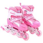 Girls-Inline-Skates-Adjustable-Rollerblades-for-Kids-Girls-Illuminating-Wheel-the-Premium-Breathable-Mesh-Roller-Skates-Double-Secure-Lock-0-3
