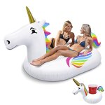 GoFloats-Giant-Inflatable-Unicorn-Includes-Bonus-Unicorn-Drink-Float-Hottest-Giant-Float-of-2018-0