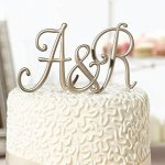 Gold-Monogram-Wedding-Cake-Topper-Initials-Set-of-3-Letters-0