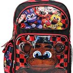 Grannys-Best-Deals-C-Five-Nights-at-Freddys-16-Backpack-with-two-main-compartments-side-compartments-New-0