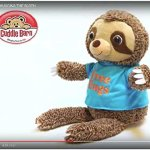 HUGGINS-THE-SLOTH-by-Cuddle-Barn-Interactive-Plush-Toy-Sings-Come-and-Get-Your-Love-0-0