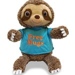 HUGGINS-THE-SLOTH-by-Cuddle-Barn-Interactive-Plush-Toy-Sings-Come-and-Get-Your-Love-0