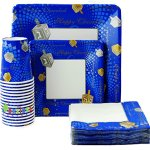 Happy-Chanukah-Square-Design-Paper-Goods-Party-Set-7-and-10-Plates-Cups-and-Napkins-0