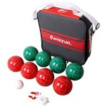 Harvil-100mm-Bocce-Ball-Set-Includes-8-Poly-Resin-Balls-1-Pallino-1-Nylon-Zip-Up-Carrying-Case-and-Measuring-Rope-0