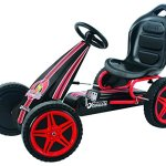 Hauck-Highlander-Pedal-Go-Kart-Ride-On-RedBlack-0