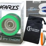 Henrys-PYTHON-Pro-YoYo-Green-Metal-Professional-String-Trick-1A-3A-5A-Bearing-YoYo-Instructional-Booklet-of-Tricks-Travel-Bag-Top-Of-The-Range-YoYo-Pro-YoYos-For-Kids-and-Adults-0