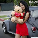 Hollabears-Extra-Large-Shawty-U-Fine-As-Shit-Tho-Teddy-Bear-Funny-and-Cute-Valentines-Day-Gift-for-Girlfriend-Boyfriend-or-Best-Friends-0-0