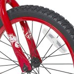 Hot-Wheels-Boys-Dynacraft-Bike-with-Turbospoke-SilverRed-18-0-2