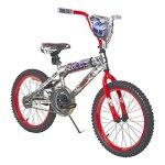 Hot-Wheels-Boys-Dynacraft-Bike-with-Turbospoke-SilverRed-18-0