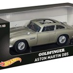 Hot-Wheels-Collector-James-Bond-Goldfinger-Aston-Martin-DB5-Die-cast-Vehicle-118-Scale-0-0