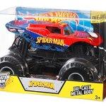Hot-Wheels-Monster-Jam-124-Die-Cast-Spider-Man-Vehicle-0-0