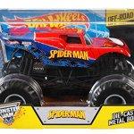 Hot-Wheels-Monster-Jam-124-Die-Cast-Spider-Man-Vehicle-0