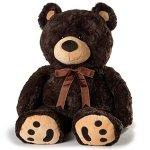 Huge-Teddy-Bear-Dark-Brown-0