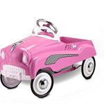 InStep-Pink-Lady-Pedal-Car-0-1