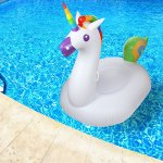 Inflatable-Unicorn-Float-Pool-Raft-HUGE-80-Unicorn-Pool-Float-Inflatables-for-Adults-Kids–Perfect-Pool-Toy-for-the-Beach-Floats-with-Durable-Soft-Vinyl-for-Guaranteed-Floatie-Fun-on-Water-0-0