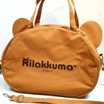 JUMBO-Licensed-San-X-Rilakkuma-Beach-Duffle-Gym-Travel-Luggage-Shoulder-Bag-Handbag-0-2