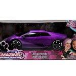 Jada-Toys-GirlMazing-RC-Lamborghini-Murcielago-116-Scale-Purple-0