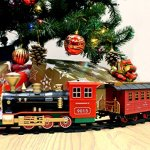 Joyin-Express-Christmas-Train-Set-with-Remote-Control-Lights-and-Sounds-12-Tracks-4-Train-Cars-and-Railway-Toy-Train-for-Christmas-Toy-Christmas-Gift-and-Christmas-Tree-Decoration-by-Joyin-Toy-0-0
