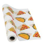 Junk-Food-Plastic-Tablecloth-Roll-40-x-100-Feet-Long-Pizza-Table-Cover-0-1
