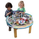 KIDKRAFT-Disney-Pixar-Cars-3-Florida-55-Piece-Wooden-Track-Set-with-Accessories-and-Table-0