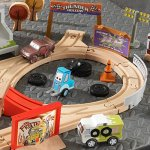 KIDKRAFT-Disney-Pixar-Cars-3-Thunder-Hollow-50-Piece-Wooden-Track-Set-with-Accessories-0-1