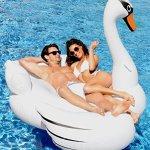 Kangaroos-Giant-Swan-Pool-Float-78-12-Inflatable-Raft-0-2