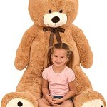 Kangaroos-Jumbo-5-Foot-Stuffed-Teddy-Bear-Plush-Toy-0-0