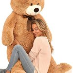 Kangaroos-Jumbo-5-Foot-Stuffed-Teddy-Bear-Plush-Toy-0