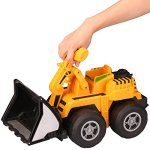 Kid-Galaxy-Mega-Front-Loader-Truck-Construction-Vehicle-Toy-for-Kids-Toddlers-Age-3-and-Up-Vehicle-0-2