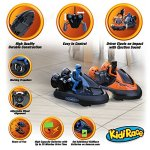 KidiRace-Remote-Control-RC-Bumper-Cars-Set-of-2-with-Rechargeable-Batteries-and-2-Wall-Chargers-0-0
