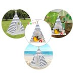Kids-Canvas-Teepee-Play-Tent-Portable-Playhouse-By-Lubber-0-2