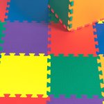 Kidzone-12×12-36-Piece-Kids-Baby-Play-Mat-Foam-Puzzle-Play-Mat-EVA-Non-Toxic-6-Colors-12-Thick-0-0