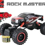 Large-Rock-Crawler-RC-Car-12-Inches-Long–4×4-Remote-Control-Car-For-Kids-Red–Everything-Included-Even-Batteries–114-Rock-Master-Rock-Crawler-with-24Ghz-Controller-By-ThinkGizmos-0