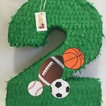 Large-Sports-Theme-Number-Two-Pinata-by-APINATA4U-Green-Color-0