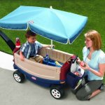 Little-Tikes-Deluxe-Ride-and-Relax-Wagon-with-Umbrella-0-1