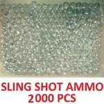 Lot-of-2000-quantity-solid-glass-marbles-Perfect-for-sling-shot-ammunition-Ammo-0