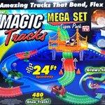 Magic-Tracks-Mega-Set-Super-Pack-with-Three-Cars-and-24-Feet-of-Tracks-480pc-0