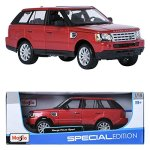 Maisto-118-RANGE-ROVER-SPORT-Red-Display-Miniature-Car-0