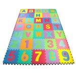 Matney-Kids-Foam-Floor-Alphabet-and-Number-Puzzle-Mat-Multicolor-36-Piece-0-0