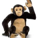Melissa-Doug-Chimpanzee-Lifelike-Stuffed-Animal-0-0