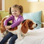 Melissa-Doug-Giant-Basset-Hound-Lifelike-Stuffed-Animal-Dog-0-0