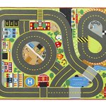 Melissa-Doug-Jumbo-Roadway-Activity-Rug-With-4-Wooden-Traffic-Signs-79-x-58-inches-0-0