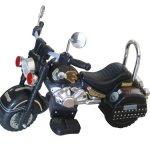 Merske-Harley-Style-6V-Battery-Operated-Kids-Motorcycle-Black-0
