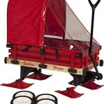 Millside-Industries-Sleigh-Wagon-with-Red-Wooden-Racks-0