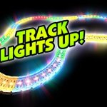 Mindscope-LED-Laser-Twister-Tracks-12-Feet-of-Light-Up-Flexible-Track-1-Light-Up-Race-Car-Each-Individual-Track-Piece-Contains-Lights-Standard-Color-System-0-1