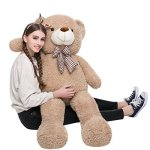 MorisMos-47-inches-Giant-Huge-Teddy-Bear-Stuffed-Animals-Plush-Toy-for-Children-Girlfriend-Tan-0