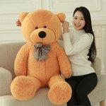 MorisMos-Giant-Teddy-Bear-Plush-Stuffed-Animals-Soft-Toys-For-Children-Kids-Girlfriend-55-14M-Brown-0-1