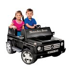 National-Products-12V-Black-Mercedes-Benz-G-Class-Battery-Operated-Ride-on-0-0